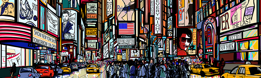 New York Pictures by Wall Art Prints