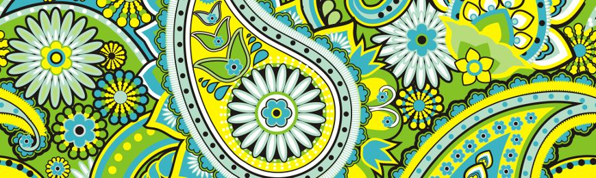 Paisley Pattern | Wall Art Prints