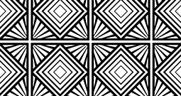 Wall Art Prints - Black and White Patterns