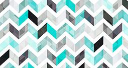 Wall Art Prints - Herringbone Pattern