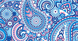 Wall Art Prints - Paisley Pattern