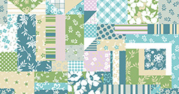 Wall Art Prints - Patchwork Patterns