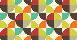 Wall Art Prints - Retro Patterns