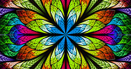 Wall Art Prints - Stained Glass Patterns